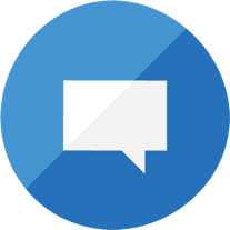 Conversations about concerns model icon