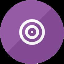 Health coaching model icon