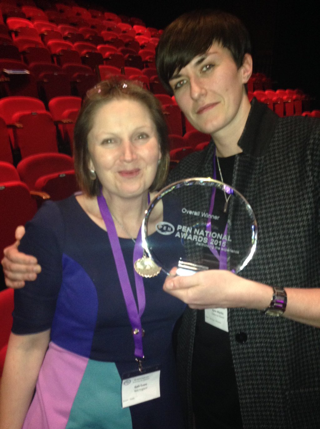 AWARDS – Me first is a double winner
