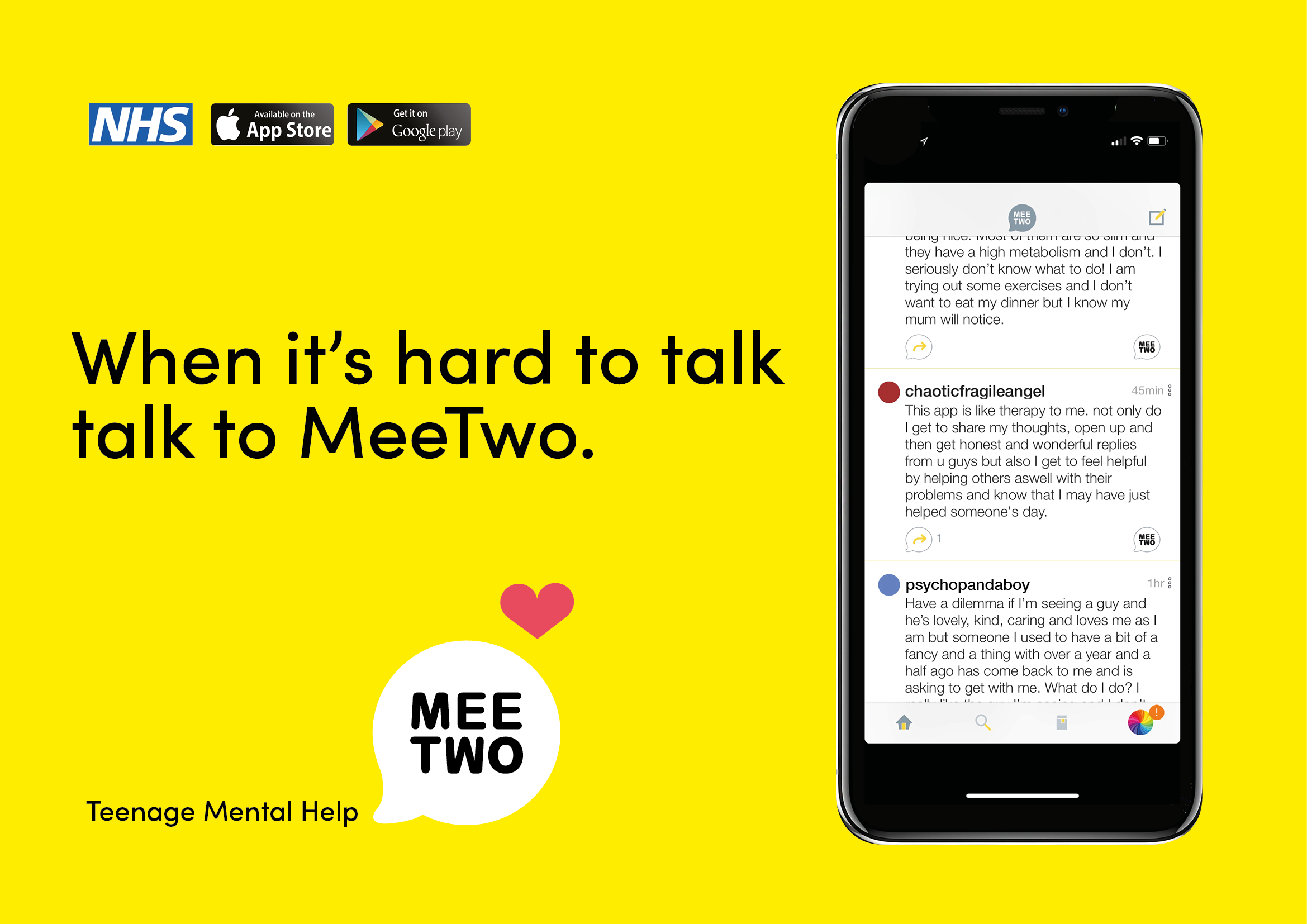MeeTwo: A Safe Social Media Solution To Improve Teenage Wellbeing