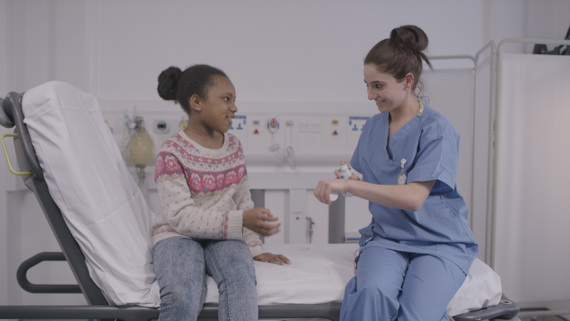 CYP and health care professional having a conversation